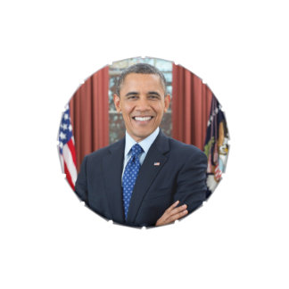 Barack Obama Candy Tins
