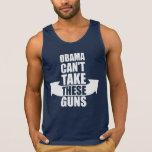 Barack Obama Can't Take These Guns Tank Top