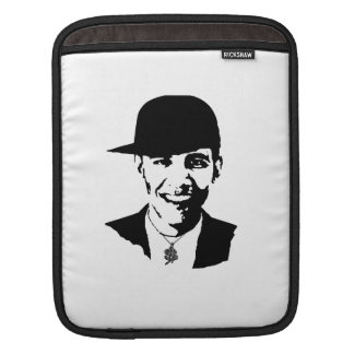 BARACK OBAMA CAP AND BLING -.png iPad Sleeves