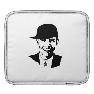 BARACK OBAMA CAP AND BLING -.png Sleeve For iPads