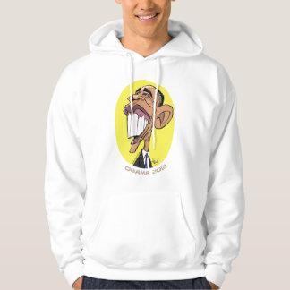Barack Obama Caricature Hooded Sweatshirt. Hoodie