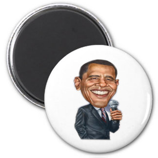 Barack Obama Caricature series 2 Inch Round Magnet