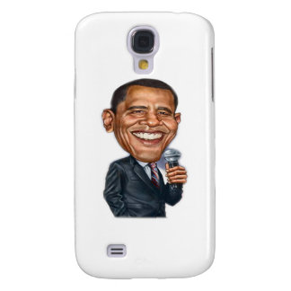 Barack Obama Caricature series Galaxy S4 Case