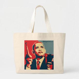 Barack Obama - cencerro: Bolso de OHP Bolsa Tela Grande