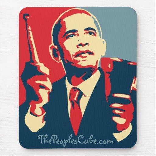 Barack Obama - cencerro: OHP Mousepad