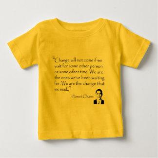 Barack Obama - CHANGE merchandise Baby T-Shirt