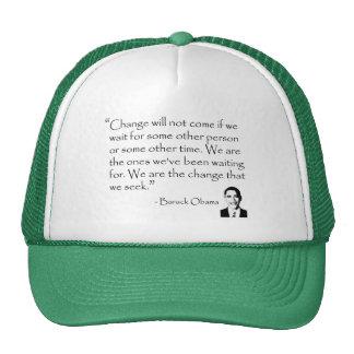 Barack Obama - CHANGE merchandise Trucker Hat