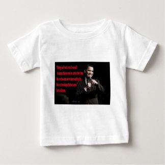 Barack Obama Change quote Baby T-Shirt