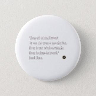 Barack Obama Change quote Button