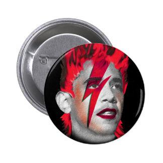 Barack Obama Changes Pinback Button