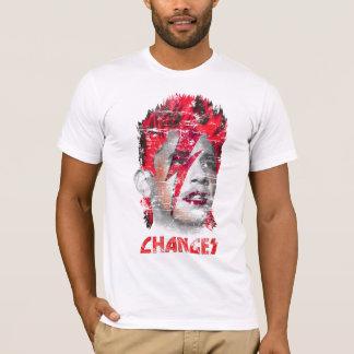 Barack Obama Changes T-Shirt