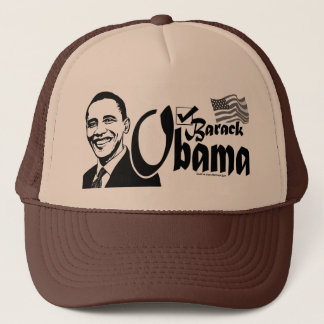 Barack Obama Check Hat