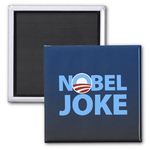 Barack Obama: Chiste Nobel Imán Cuadrado