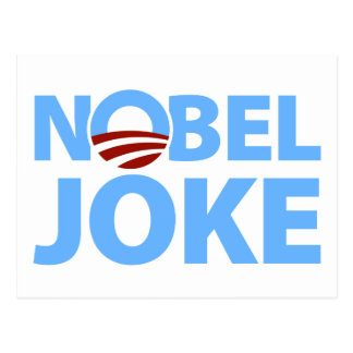 Barack Obama: Chiste Nobel Tarjetas Postales