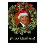 Barack Obama Christmas Cards