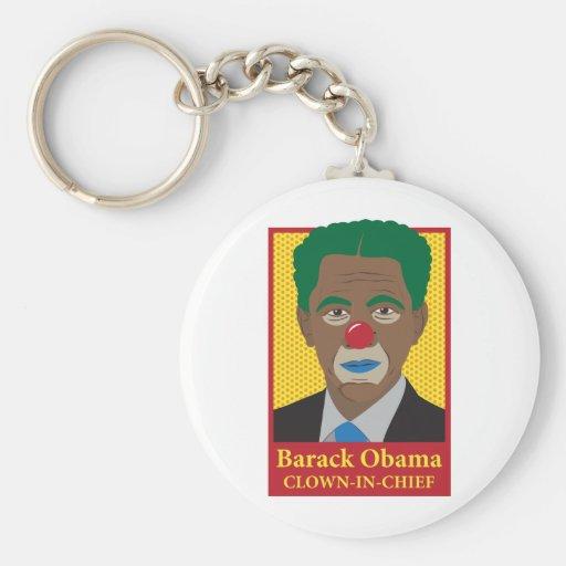 Barack Obama Clown Key Chains