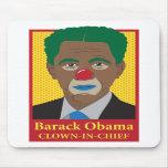 Barack Obama Clown Mousepad
