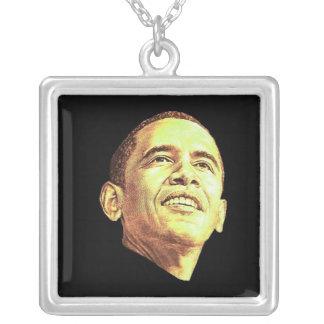 Barack Obama Colgante Cuadrado