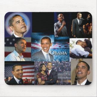 Barack Obama Collage Mouse Pads