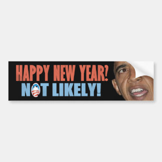 Barack Obama Con Job Bumper Sticker