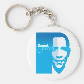 Barack Obama Cool Custom Art Remix Basic Round Button Keychain