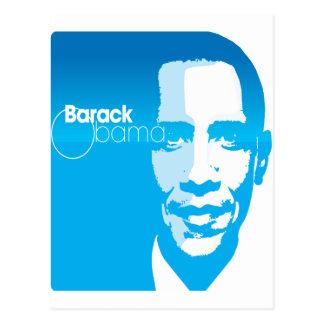Barack Obama Cool Custom Art Remix Postcard