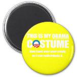 Barack Obama Costume Magnet