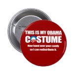 Barack Obama Costume Pins