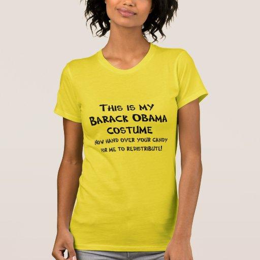 Barack Obama Costume Tshirts