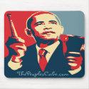Barack Obama - Cowbell: OHP Mousepad mousepad