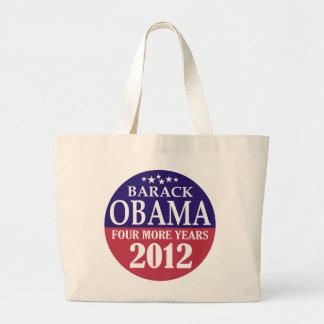 Barack Obama - cuatro más años - 2012 Bolsa De Mano