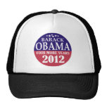 Barack Obama - cuatro más años - 2012 Gorro De Camionero