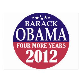 Barack Obama - cuatro más años - 2012 Postales