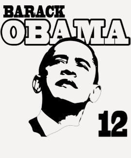 Barack Obama de camisa retra 12 señoras