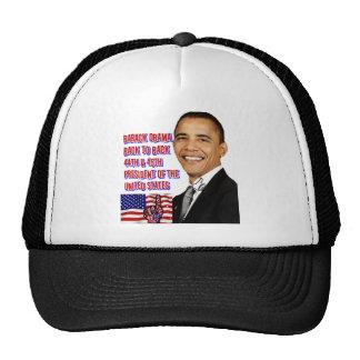 Barack Obama de nuevo a Back_ Gorro De Camionero