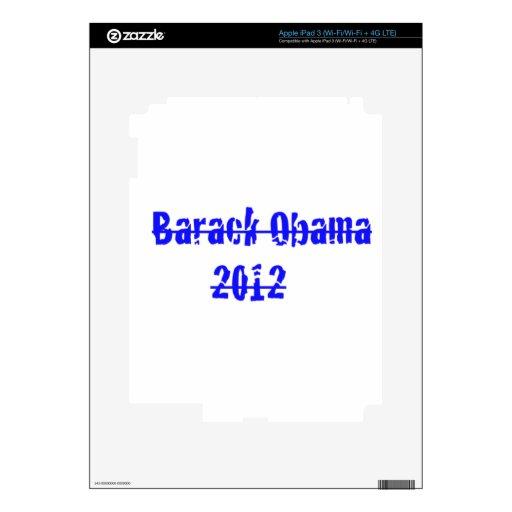 barack obama decals for iPad 3