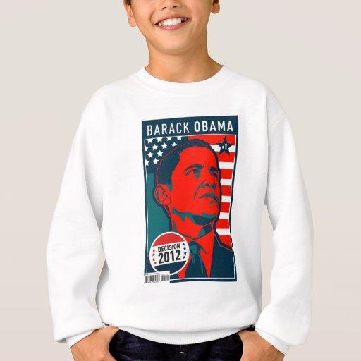 Barack Obama - decisión 2012 Playeras