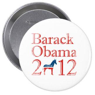 Barack Obama Demócrata 2012 Vintage.png Pin