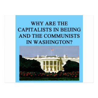 barack obama democratic socialist postcard