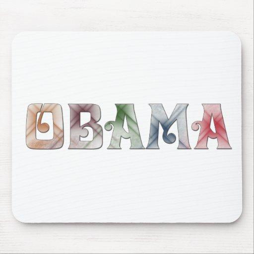 Barack Obama Design Mouse Pad
