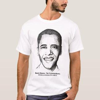 Barack Obama diez mandamientos 2 echó a un lado Playera