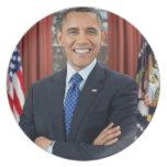 Barack Obama Dinner Plate