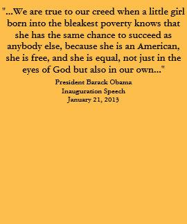Barack Obama - discurso 2013 de la inauguración Playera