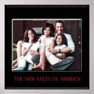 BARACK OBAMA: EL NUEVO PRIMER POSTER DE LA FAMILIA