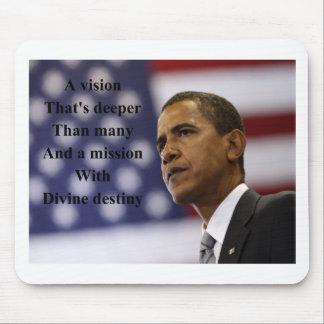 Barack Obama election Mouse Pad