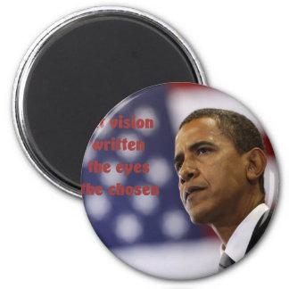 Barack Obama elegido Imán Redondo 5 Cm