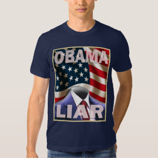 Barack Obama - Empty Suite of Lies - Customized T-Shirt