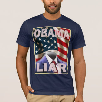 Barack Obama - Empty Suite of Lies T-Shirt