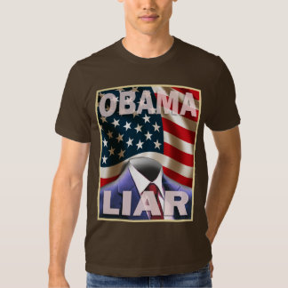 Barack Obama - Empty Suite of Lies Tee Shirts