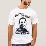Barack Obama es mi camiseta del homeboy